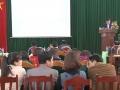 Bế giảng  lớp TCLLCT-HC huyện Hạ Hòa khóa 3