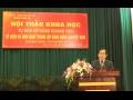 """Hội thảo khoa học """"Tự hào về Đảng quang vinh"""" kỷ niệm 85 năm ngày thành lập Đảng Cộng sản Việt Nam (3/2/1930 - 3/2/2015)"""