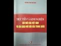 Giới thiệu sách mới: THỰC TIỄN VÀ KINH NGHIỆM ĐỔI MỚI CỦA VIỆT NAM  VÀ CẢI CÁCH MỞ CỬA CỦA TRUNG QUỐC